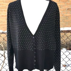 Lane Bryant winter cardigan sweater Sz 18-20